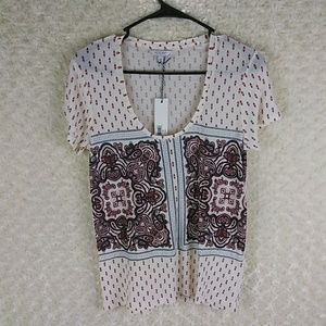 Lucky brand women's small petite t shirt